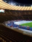Das nächtliche Olympiastadion