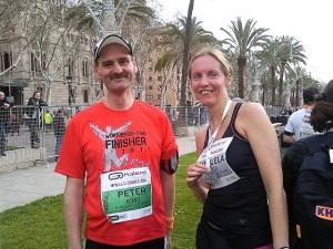 Halbmarathon Barcelona
