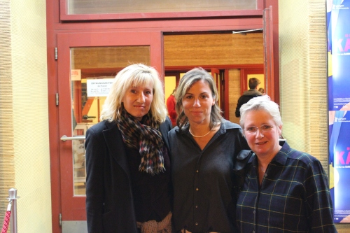 von links: Ines Geipel, Sandra Kaudelka, Brita Baldus