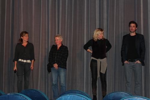 von links: Sandra Kaudelka, Brita Baldus, Ines Geipel, Martin Heisler