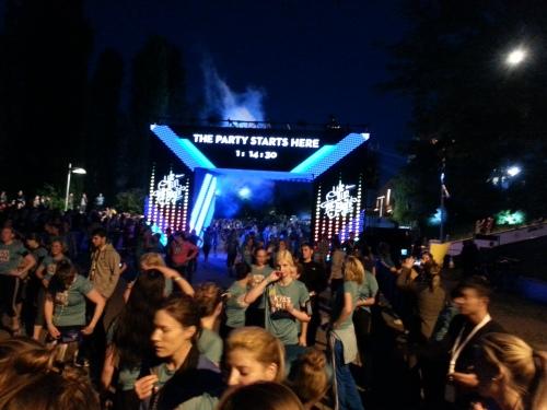 We own the night 2014 Berlin