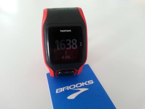 TomTom Runnner Cardio GPS Uhr
