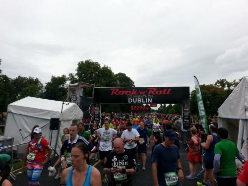 Rocknroll Dublin Halbmarathon