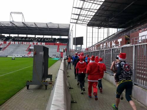 St Pauli Xmass Run