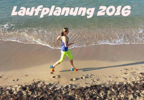 Laufplanung 2016