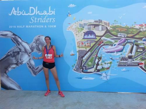 Abu Dhabi Striders Half Marathon