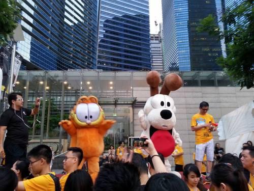 Garfield Run Singapur